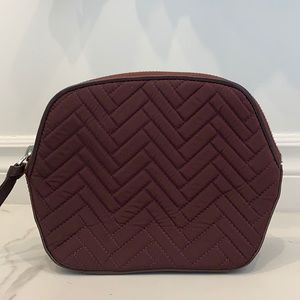 Mackage Wine Colored Makeup Pouch